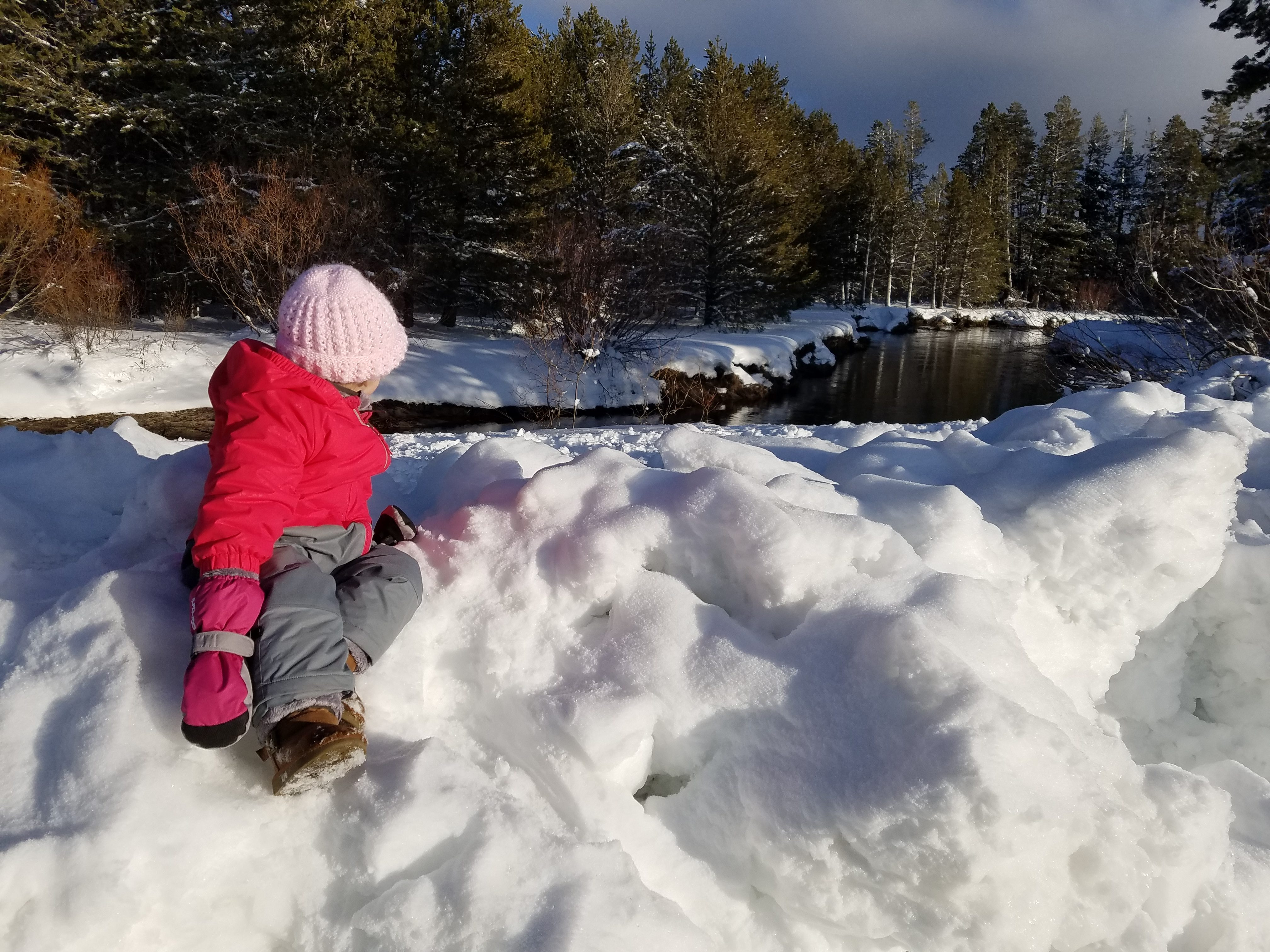 truckee river snow