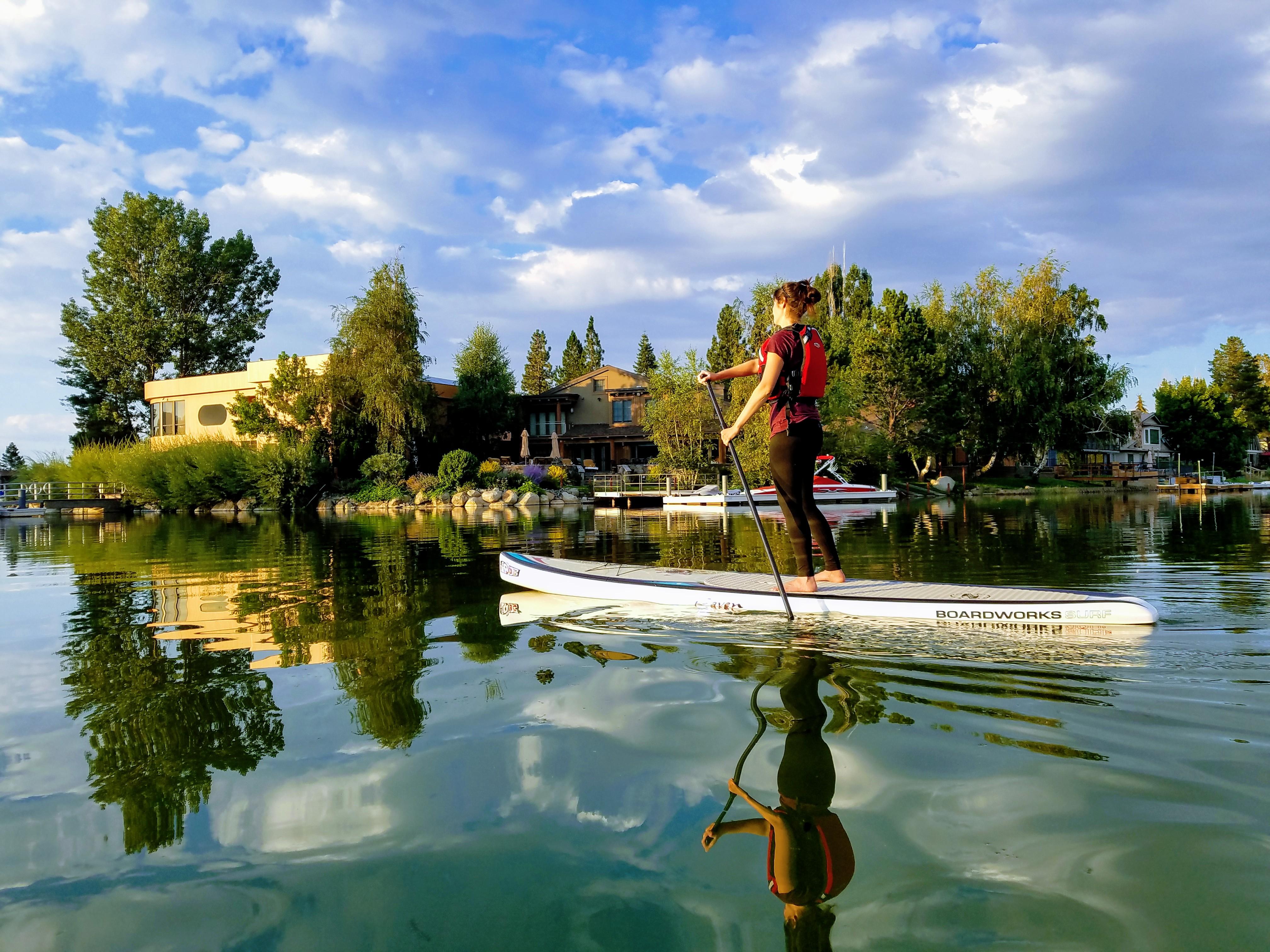 Tahoe Keys Paddle Board