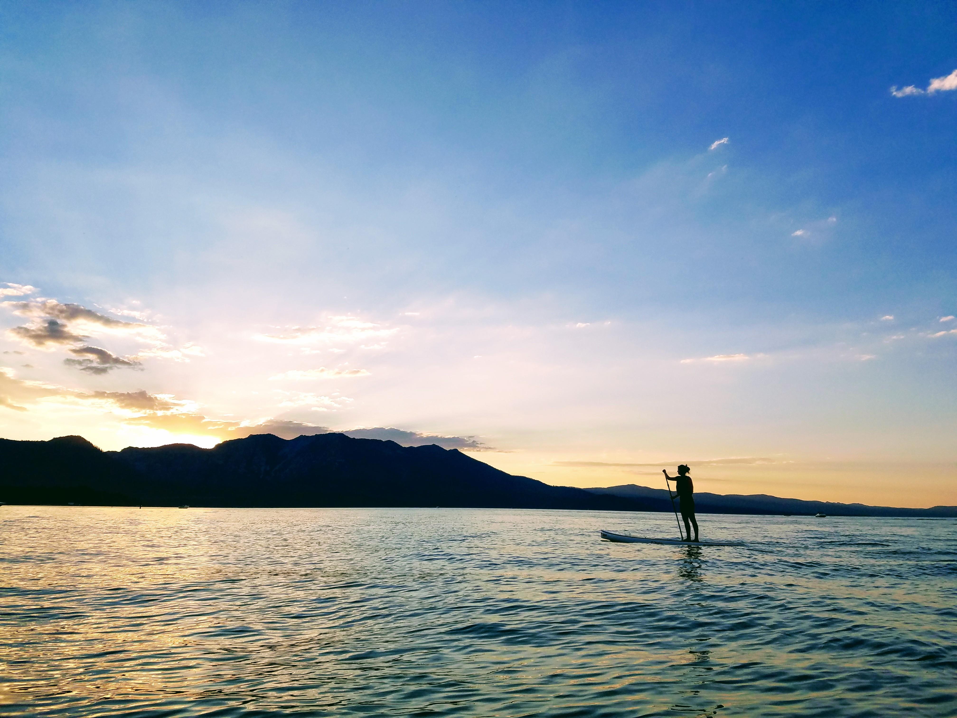 Lake Tahoe Paddle Board