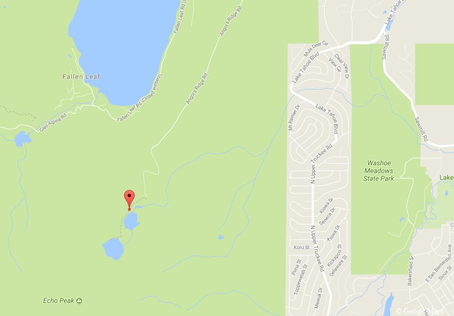 Angora Lakes Trail