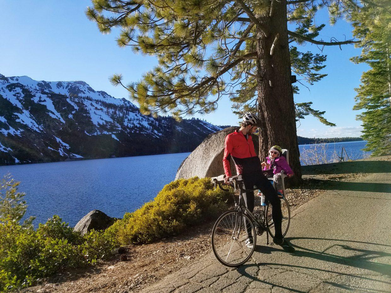 Fallen Leaf Lake Biking