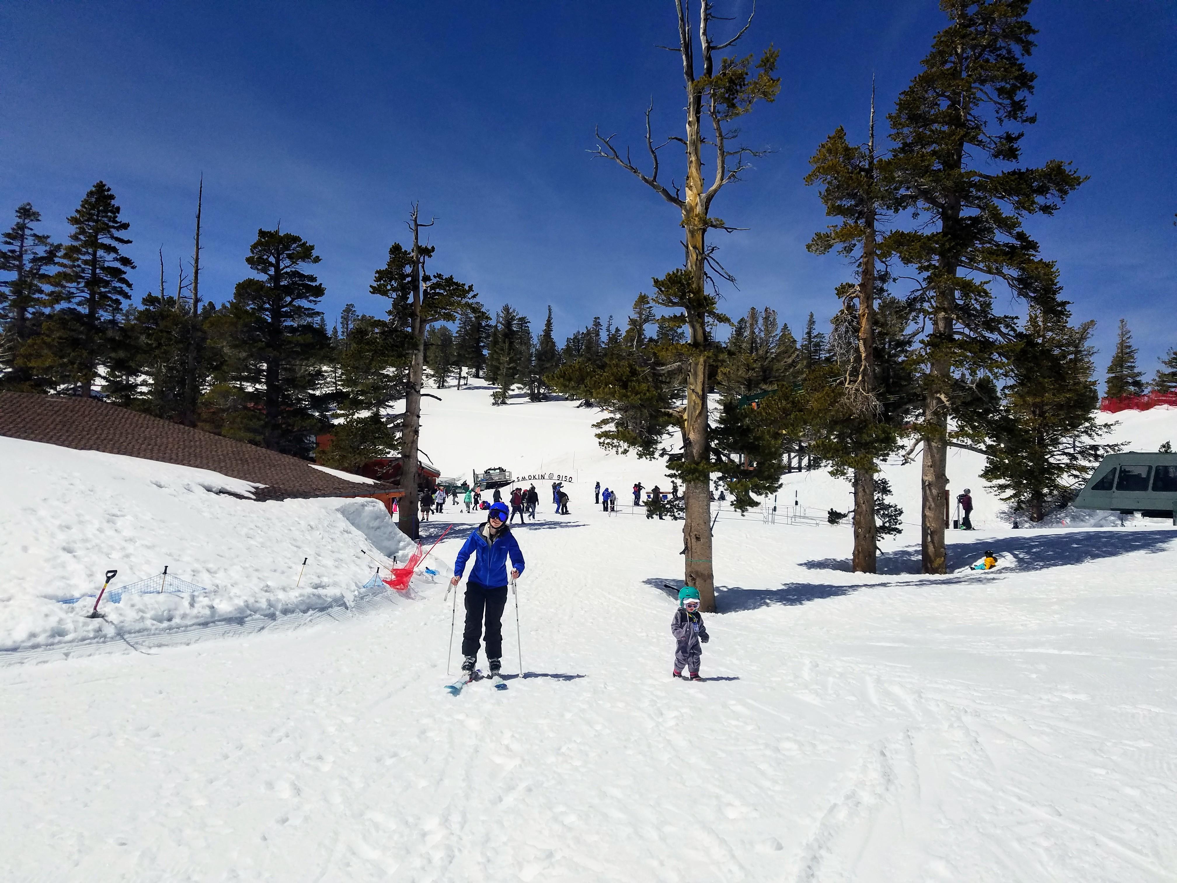 Toddler ski