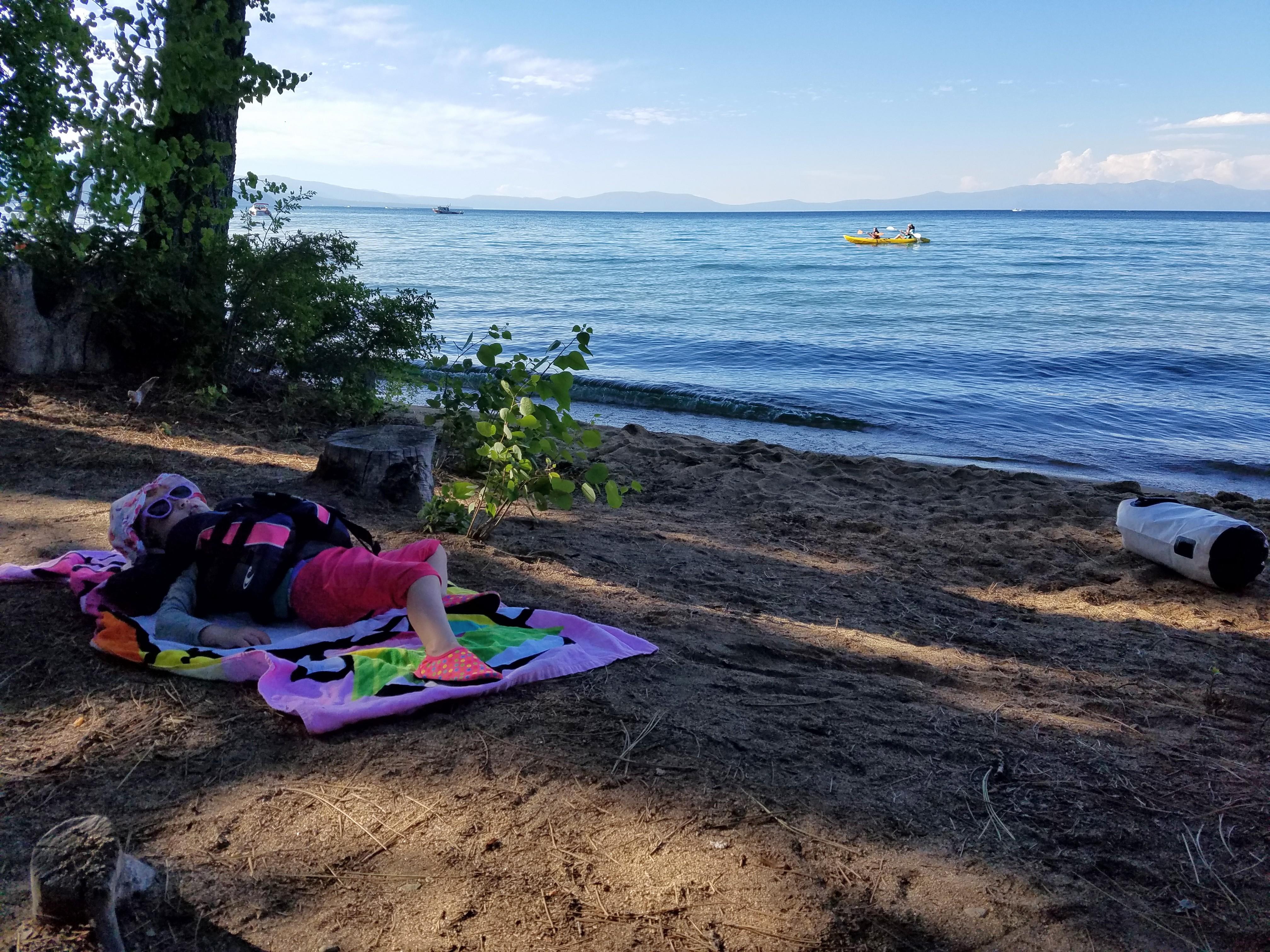 Camp Richardson Kayak to Tallac Historic Site
